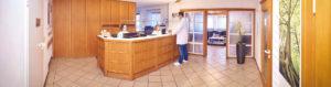 Hausarztpraxis Altenstadt an der Iller – Dr. Gabor Csuka – Allgemeinmedizin Empfang