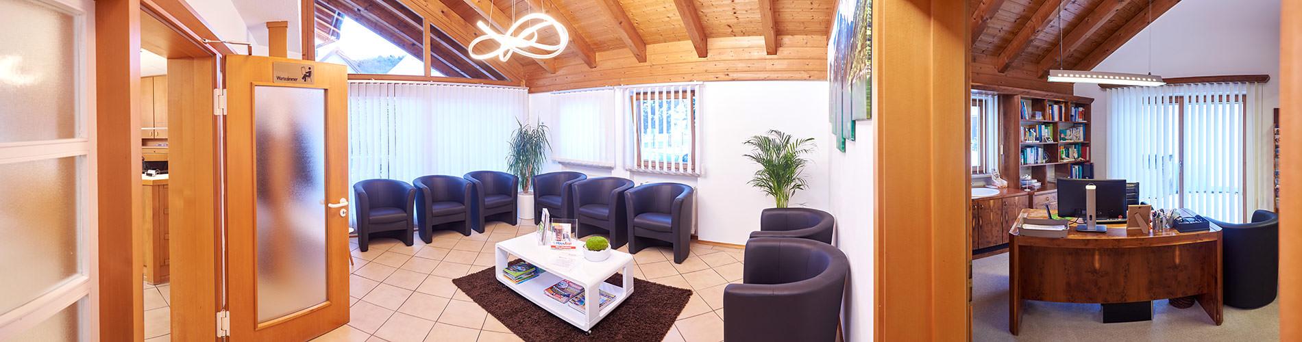Hausarztpraxis Altenstadt an der Iller – Dr. Gabor Csuka – Allgemeinmedizin Wartezimmer