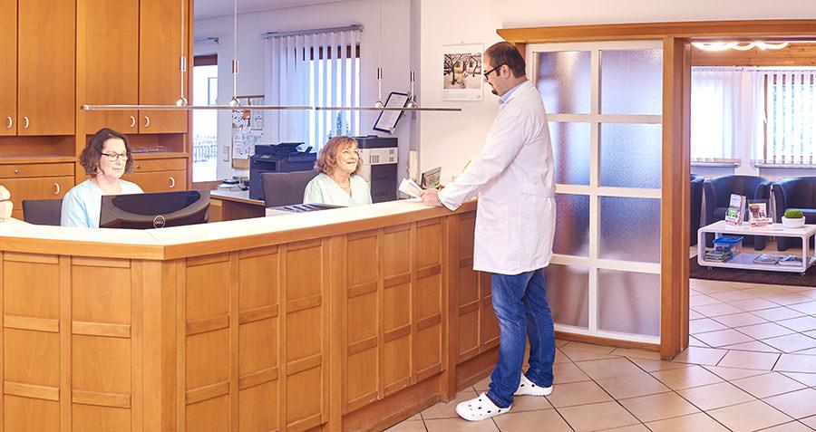 Service in der Hausarztpraxis Altenstadt an der Iller